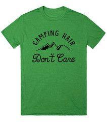 Cuz...Camping Hair - Festival Gear - 1