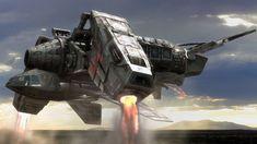 Betty spaceship... Alien IV inspiration