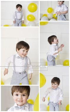 Rebekah Kay Photography Studio Windham, NH Two year old birthday balloon bash
