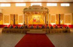 © PhotoStrophe Source by aadharm . Wedding Hall Decorations, Marriage Decoration, Tent Decorations, Reception Stage Decor, Wedding Mandap, Backdrop Wedding, Indian Wedding Theme, Wedding Background, Chennai