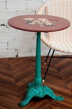 1920u0027s Pedestal Bistro Table   SOLD
