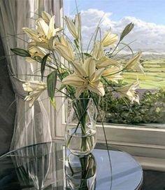 Jim Farrant-White Lilies