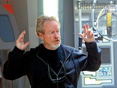 Sir Ridley Scott, director of Prometheus courtesy of Entertainment Weekly