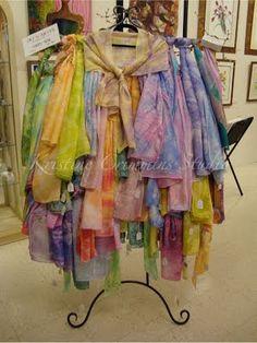 scarves - Kristine Crimmins Studio