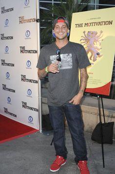 """Ryan Sheckler en la premiere """"The Motivation"""" un toneo de golf que se realiza anualmente."""