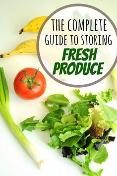How Long Does Fresh Produce Last & How Do I Store It? - Help your produce last much longer with these tips! Vegan Recipes, Cooking Recipes, International Recipes, Vegetable Recipes, Food Hacks, Meal Planning, Healthy Eating, Stuffed Peppers, Meals