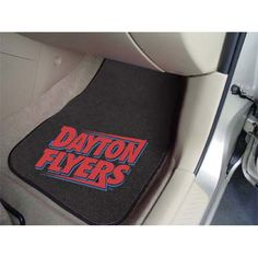 Dayton Flyers NCAA Car Floor Mats 2 Front