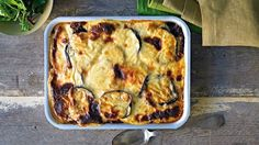healthy moussaka recipe from Michelle Bridges