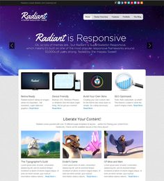 If you are looking for a powerful responsive wordpress theme, then this theme would be one of your best choices. Let it help you create a world-class website.