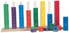 Lernspiel Farbentürme für Grundschulkinder