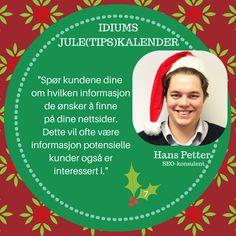 Idiums Jule (tips) kalender #julekalender #sosialemedier #markedsforing #digitalmarkedsføring #markedsføring