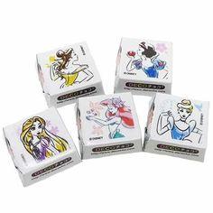 Amazon.co.jp: ディズニープリンセス[お菓子]DECOチョコ45個パック/ファッショナブル・プリンセス ディズニー: 食品・飲料・お酒