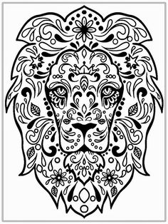 Meerkatsu Art Lion Colouring Page Adult Coloring Pages And Rh Com Fairy Tale