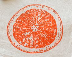 Printing inspiration: an Orange ---- by SproutedDesigns