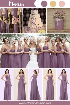 Grape and Mauve Bridesmaid Dresses Cheap Bridesmaid Dresses, Long Bridesmaid Dresses, Chiffon Bridesmaid Dresses, Bridesmaid Dresses Under 100, Bridesmaid Dress Colors, Wedding Bridesmaids, Wedding Gowns, Wisteria Bridesmaid Dresses, Bridesmaid Pictures, Vintage Bridesmaid Dresses, Bridesmaid Duties, Affordable Bridesmaid Dresses