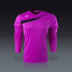 be80edb87 Buy Under Armour Horizontal Long Sleeve Goalkeeper Jersey on SOCCER.COM.  Best Price Guaranteed