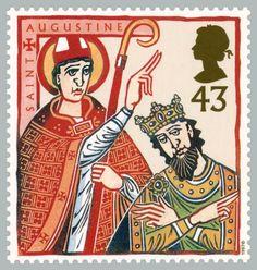 Royal mail postage stamps   Clare Melinsky