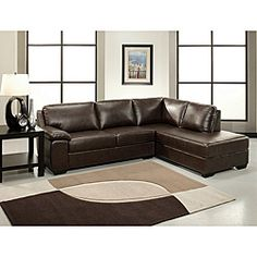 Nebraska Furniture Mart – Abbyson Living Pearce Sectional Sofa in Dark Brown Living Room Bench, Rugs In Living Room, Living Room Furniture, Brown Sectional Sofa, Furniture Design Images, Dark Brown Sofas, Elegant Living Room, Nebraska Furniture Mart, Lounge Areas