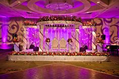 Reception Hall Decor. Love the stage..... Wishful thinking...if only...