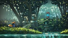 ArtStation - 2d platform game concepts, Quentin Regnes