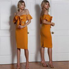 African dress 2017 summer Sexy dress Pencil Short Bow Knee-Length Empire Slash neck Lanon Fabric Fashion nightclub dresses #Affiliate
