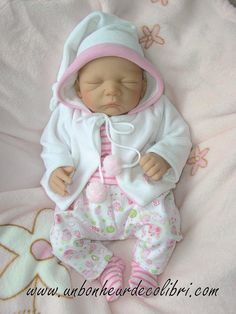 18 in reborn environ 45.72 cm poupées à motifs Dungarees Chou Chou fit baby doll Annabel