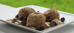 Raw Cookie Dough Balls - from my blog (vegan friendly).