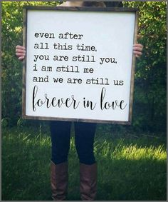 This sign is so amazing! #Farmhouse #WallArt #HomeDecor #FarmHouseDecor #Love #Wedding #Marriage #Ad