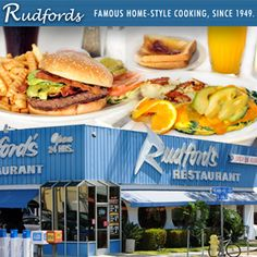 $12 for $24 Worth of Rudford's Famous Home-Style Food & Drinks. #sandiego #diner #deal #rudfords #elcajon #universityheights