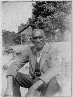George Eatman, ex-slave, age 93, Alabama. Taken in the 1930s.