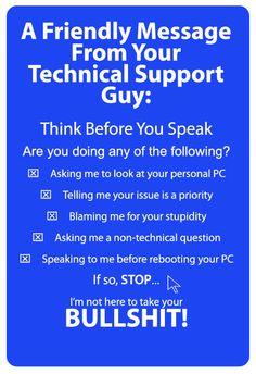Technical Support Jobs Suck