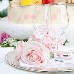 Wedding #dettagli #brindisi #calici #rose