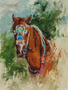 fine oil native american paintings | Decorated - Jan Mapes Fine Art | Jan Mapes Fine Art Native American Decor, Native American Beauty, Dream Catcher Native American, Southwest Art, Native Art, Art Tutorials, Nativity, Power Stroke, Art Pieces