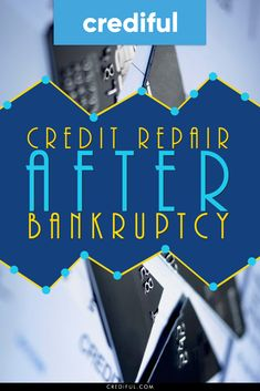 How to Rebuild Credit After Bankruptcy - Pay off credit card - How long to Pay off credit card? - Bankruptcy doesnt ruin your credit forever. Find out step by step how to repair your credit after going through both Chapter 7 and Chapter 13 bankruptcy. How To Fix Credit, Build Credit, Check Credit Score, Improve Your Credit Score, Rebuilding Credit, Credit Repair Companies, Credit Card Interest, Paying Off Credit Cards, Credit Bureaus