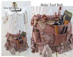 Boho tool belt  JoAnnA Pierotti  several others on her blog