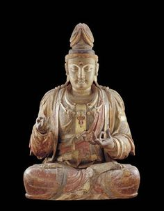 """A bodhisattva is an enlightened being who has delayed entering paradise in order to help others attain enlightenment. This figure represents the bodhisattva Avalokitesvara, known to the Chinese as Guanshiyin (later also as Guanyin), which means """"he who observes the sounds of the world""""—including cries for help. In China, Guanyin is widely worshipped as a """"goddess of mercy and compassion,"""" a savior in both the physical and spiritual sense. In popular folklore, reciting the bodhisattva's name…"""