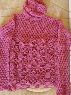 Sidney Artesanato: Blusas de crochet .....