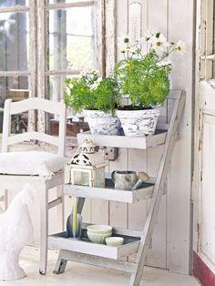 Shabby Chic Garden | Porch | Pinterest | Gärten, Terrasse Und Charme Shabby Chic Im Garten Moebel Deko Ideen