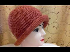 Sombrero A Crochet, Knit Crochet, Crochet Hats, Dorset Buttons, Headgear, Handicraft, Shawl, Crochet Patterns, Weaving