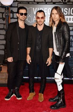 30 Seconds to Mars at 2013 MTV Video Music Awards