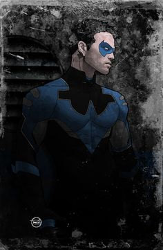 branch56:  Nightwing.Classic Blue.