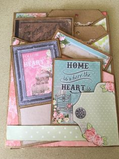 National Scrapbook Day 2016 Insert #10 created by crafter  Lliana Martinez.