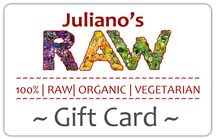 Give the GIFT of RAW Living Foods!