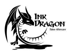 ::Ink Dragon Logo:: Design Sample Made By LogoPeople Australia #Logo #Design #InkLogo