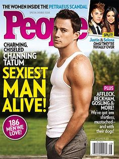Repin if you can't wait to pick up your copy of the #SexiestManAlive issue, starring Channing Tatum!