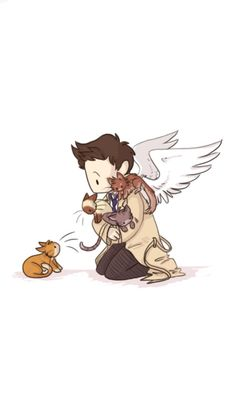 Cas with cats