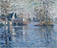 The Dam of a Loir Ponce - (Maxime Maufra)