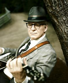 Steve Martin - will be seeing him with the Steep Canyon Rangers at DelFest on Memorial Day weekend.