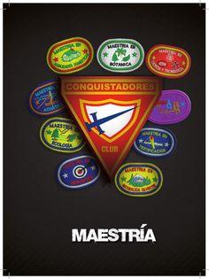11 Maestrias | Club de Conquistadores by jorgequiat via slideshare