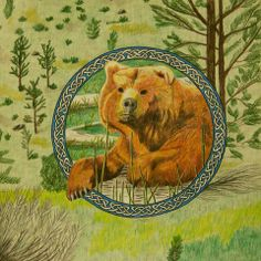 Celtic Lore Animals Series - the Bear